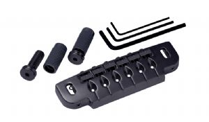 GOTOH 510C COMBINATION BRIDGE / TAILPIECE COSMO BLACK